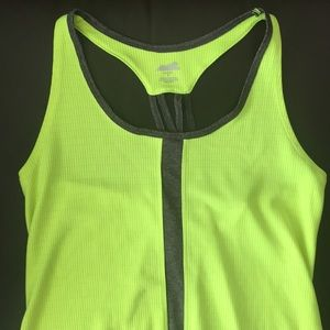 Neon workout top
